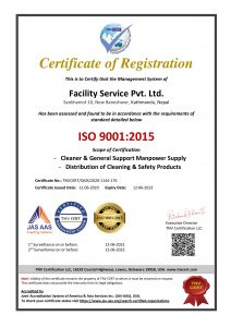 ISO Certified Rope Access Cleaning service