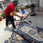 How to clean carpets at home?